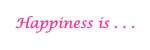 pink happiness graphic