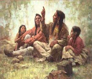 Native American Storyteller