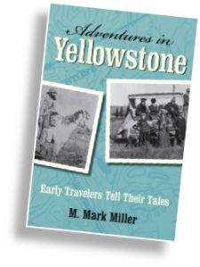 book cover Adventures in Yellowstone