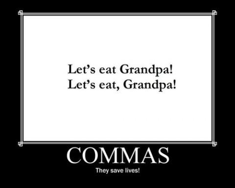 Comma, Comma