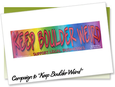 Keep Boulder Weird Logo
